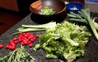 Fresh organic and home grown food fights cancer