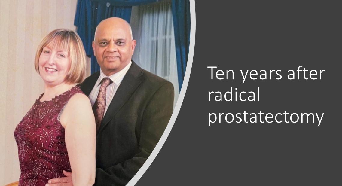 How we navigate sex over 80 after radical prostatectomy